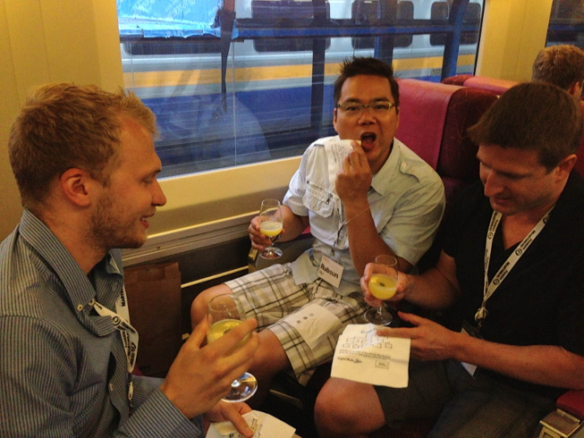 On The StartupTrain 2013